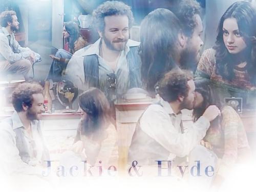 Jackie Burkhart fondo de pantalla titled Jackie & Hyde