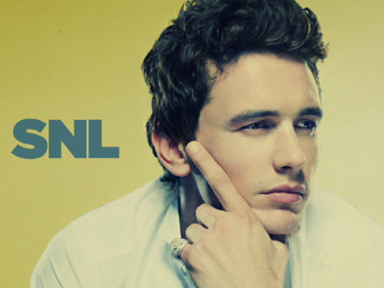 Saturday Night Live wallpaper with a portrait entitled James Franco on SNL (9/20)