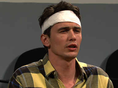 James Franco on SNL (9/20)