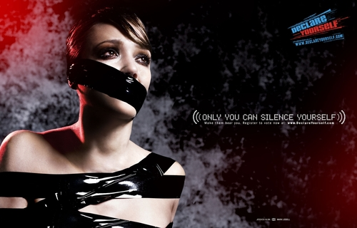 Jessica Alba Only 你 Can Silence Yourself PSA Declare Yourself