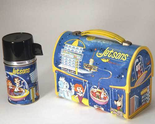 Jetsons VIntage 1963 Dome Lunch Box