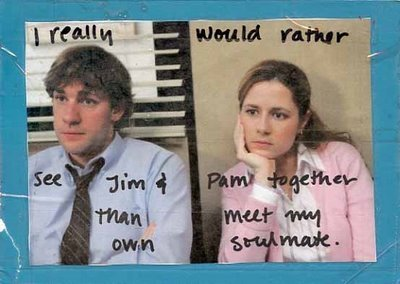 Jim and Pam PostSecret