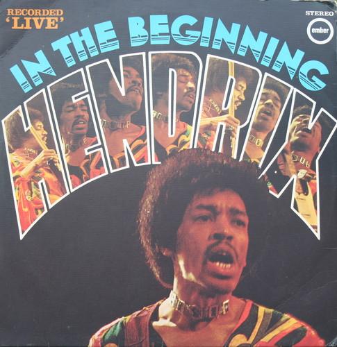 Jimi Hendrix Album Covers