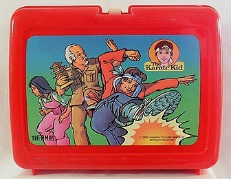 Karate Kid Vintage 1989 Lunch Box