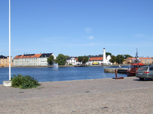 Sweden wallpaper possibly with a business district entitled Karlskrona