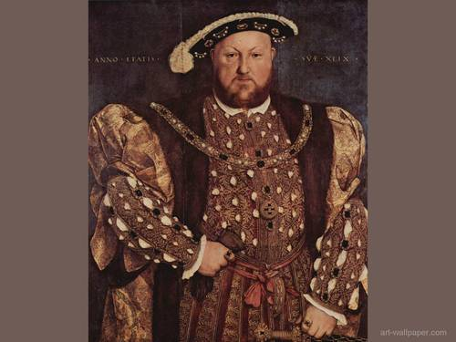Kings and Queens wallpaper with a boater and a fedora titled King Henry VIII of England