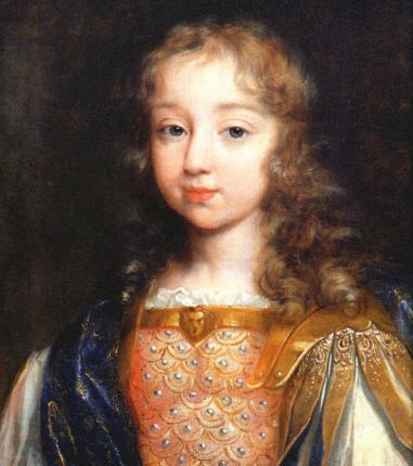 King Louis XIV as a Child