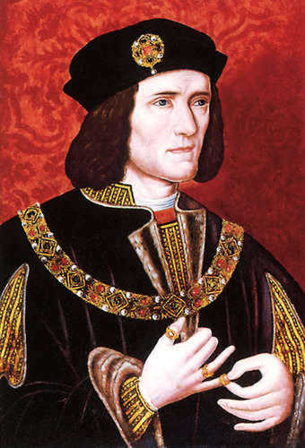 King Richard III of England