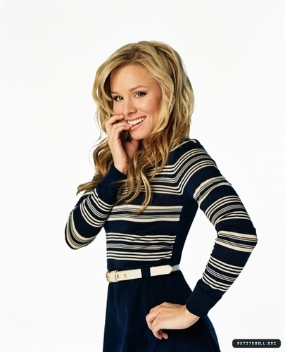Kristen Bell wallpaper possibly containing a playsuit, a well dressed person, and a shirtwaist called Kristen in Promos