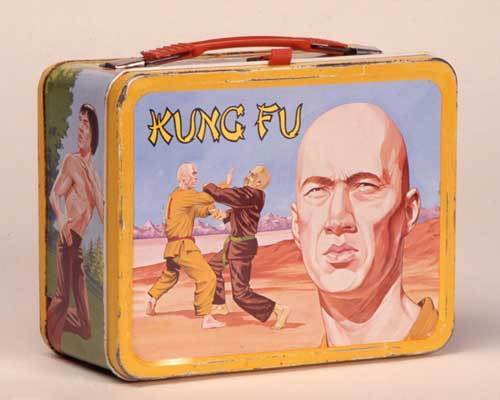Kung Fu Vintage 1974 Lunch Box