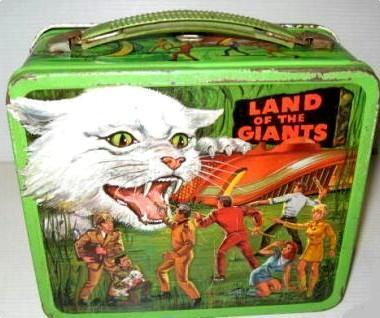 Land Of The Giants vintage lunch box