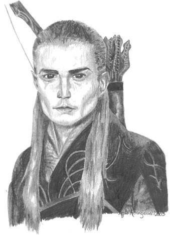 Legolas Fan Art