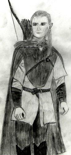Legolas پرستار Art