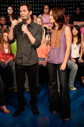 Leighton and Penn MTV TRL