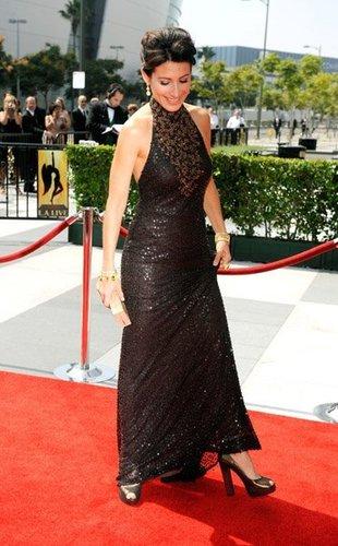 Lisa at 60th Primetime Creative Arts Emmy Awards