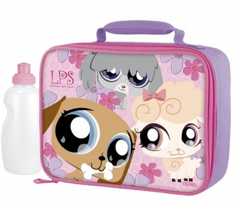 Littlest Pet duka mtoto wa mbwa Lunch Box