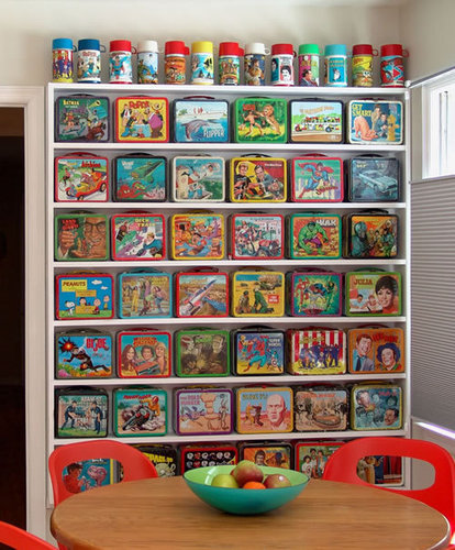 Lunch Box Collection Display