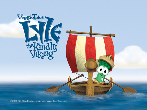 Lyle the viking - veggie-tales Wallpaper