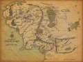 Map of Middle Earth - lord-of-the-rings wallpaper