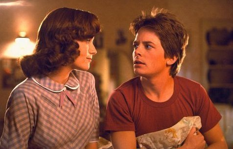 Michael J Fox images Marty ni BTTF1 wallpaper and background photos