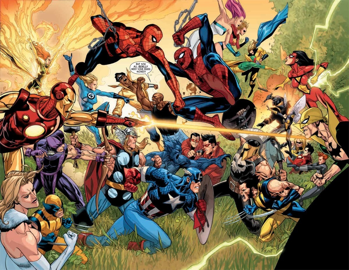Marvel Comics Marvel Fight