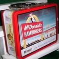 McDonald's lunch box