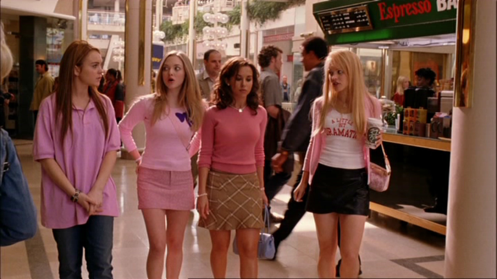 film analysis of the movie mean girls While the film mean girls is predominantly a film about teenage girls, much of the film has to do with sexualized male-female relationships.