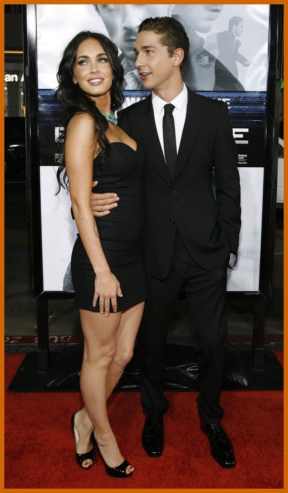 Megan Fox And Shia LaBeouf At The Premiere Of The Movie Eagle Eye - shia-labeouf photo