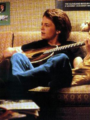 Michael J Fox wallpaper possibly containing a flutist entitled Mic
