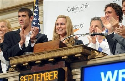 Michael Phelps wallpaper called Michael Phelps @ NYSE