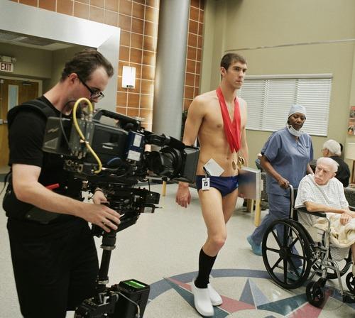 Michael Phelps on Grey's