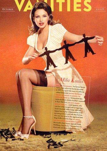 Mila Kunis Vanities