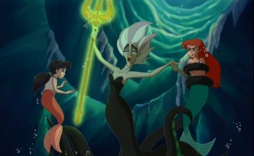 Disney Villains hình nền possibly with anime entitled Morgana