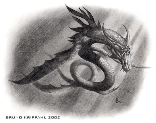 Loch Ness Monster Обои probably containing an embryonic cell and a fleur de lis titled Nessia Fanart