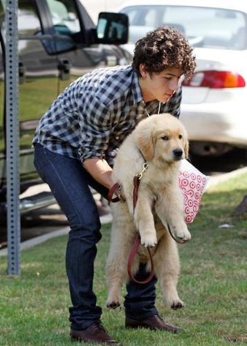 Nick & his puppy!!