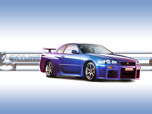 Nissan Skyline - cars Wallpaper