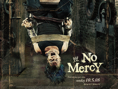Professional Wrestling wallpaper probably with a sign entitled No Mercy 2008