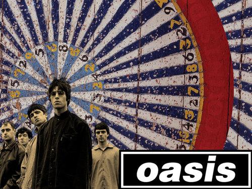 Oasis پیپر وال