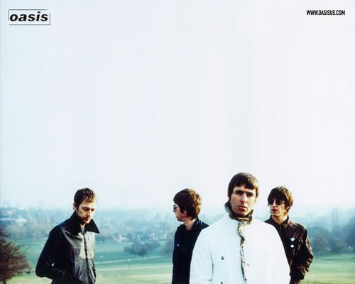 Oasis achtergrond