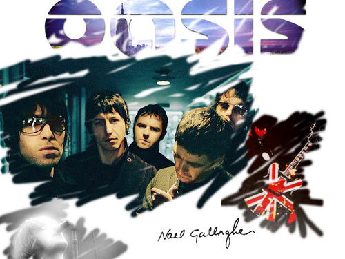 Oasis wolpeyper