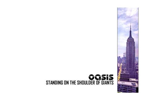 Oasis Hintergrund