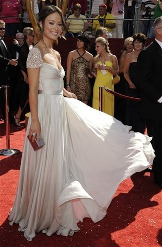Olivia Wilde at the 60th Primetime Emmy Awards 2008
