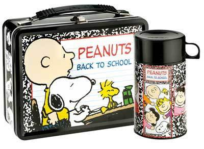 Peanuts Back to School Lunch Box