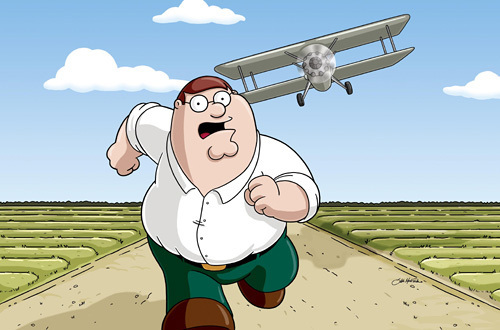 Family Guy kertas dinding entitled Peter Griffin