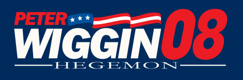 Peter Wiggin for Hegemon