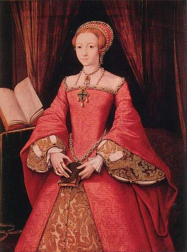কুইন Elizabeth I When She Was Still a Princess