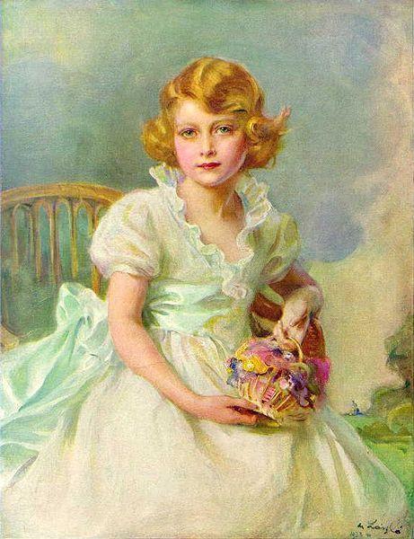 Queen Elizabeth II at 7 Years Old