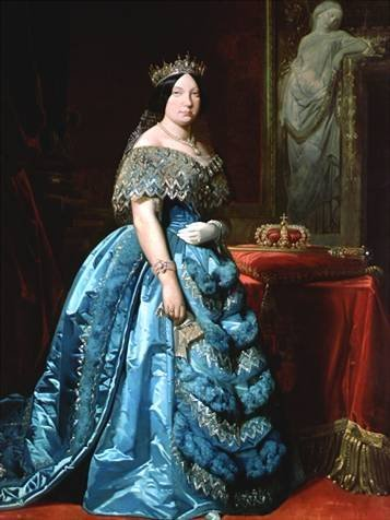 reyna Isabella II of Spain