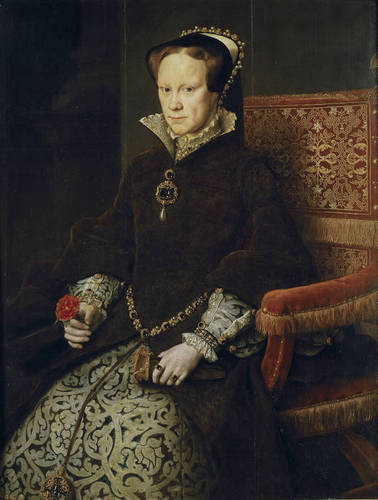 reyna Mary I of England