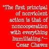 Human Rights تصویر called Quote Icons: Cesar Chavez